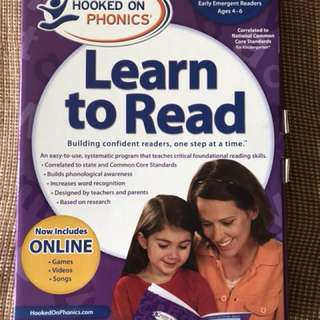 phonics Learn to read 95% new
