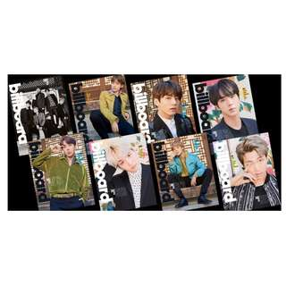 BTS BILLBOARD MAGAZINE (LIMITED EDITION)