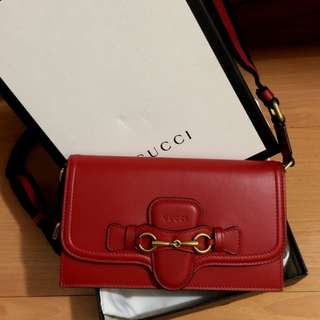 GUCCI lady web convertible wallet (2016)