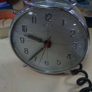 Diamond alarm clock vintage made in china
