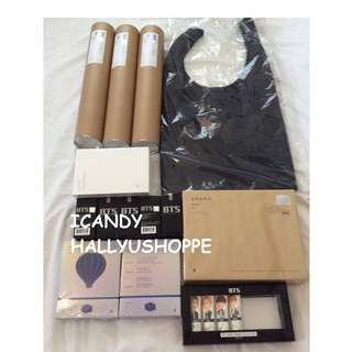 BTS Official Items Onhand