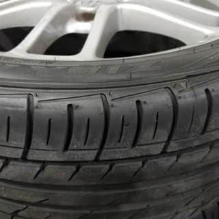Porsche Cayman wheel