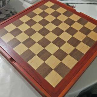 Pearl Harbor Wooden Chess Set