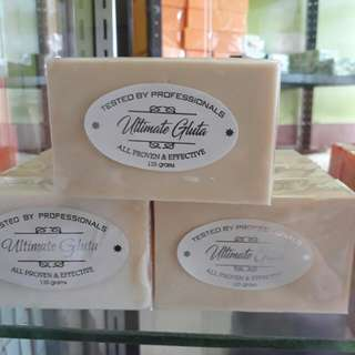 ULTIMATE GLUTA WHITENING SOAP