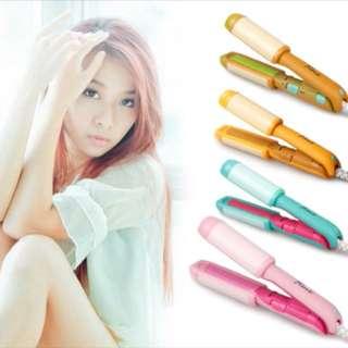 MINT mini hair  curler/straightener