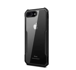 Xundd Armor Shockproof Case for iphone 7 Plus Black