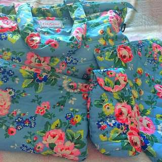 Authentic Cath Kidston Large Spray Flowers Quilted Nappy Bag