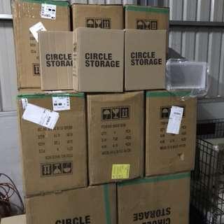 🚚 潮流鞋盒 收藏鞋盒 透明鞋盒