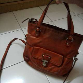 Authentic Coach leather