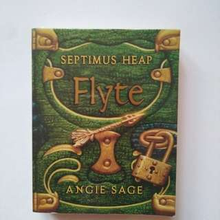 NOVEL PRELOVED - SEPTIMUS HEAP