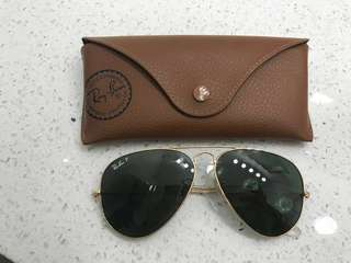 Polarized Ray Ban Aviator Gradient