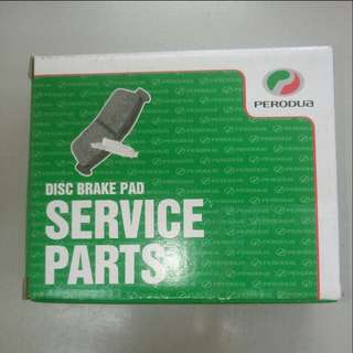 PERODUA VIVA DISC BRAKE PADS FR GENUINE PART