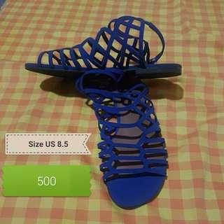 Repriced Used Brash Blue Gladiator Sandals