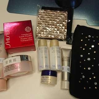 Shiseido samples x 7