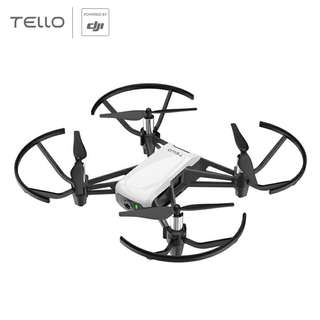 Ryze DJI Tello Mini Camera Drone - 5MP Camera, App Control, FPV View, Collision Detection + Avoidance, Auto Takeoff + Land (White) (CVAJN-G883)