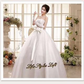 Wedding gown for rent or sale