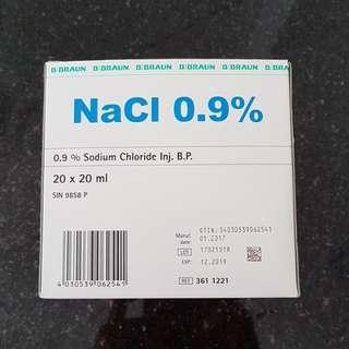 Braun NaCl 9% Sodium Chloride Inj. B.P. 20ml