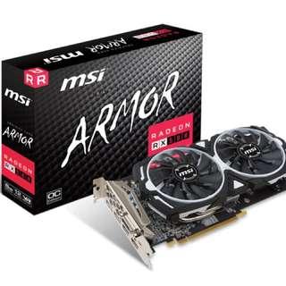 MSI Armor OC RX580 8GB