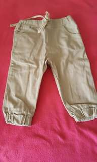 Jogger pants for boy