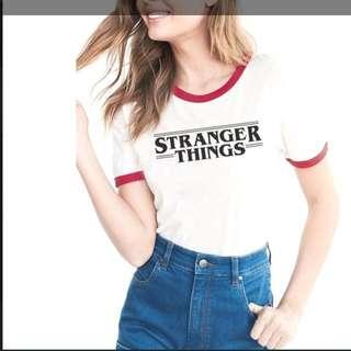 (PO) Stranger Things Ringer t shirt