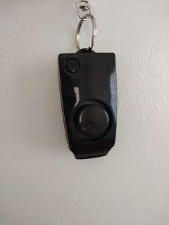Rape whistle/alarm