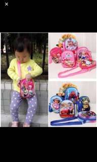 PO 3D Kids Sling Bag Brand New
