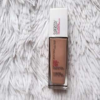 New Maybelline Superstay Foundation