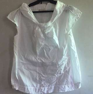 3XL WHITE BLOUSE