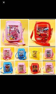 PO Kids Stationery Set Cum Sling Bag Ideal For Goodies Bag Brand New