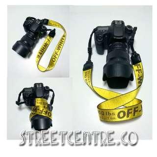 Off White Camera Strap