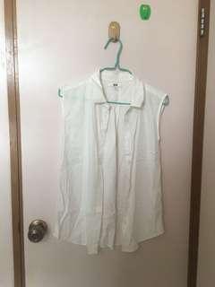 Uniqlo 背心 Sleeveless Shirt S size