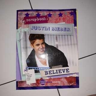 Scrapbook Justin Bieber