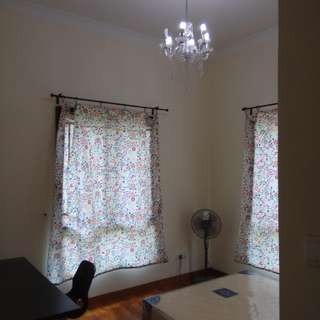 Master Room from Nov2018 or Single room from Aug2018.