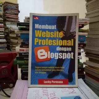 Membuat Website Profesional dengan Blogspot