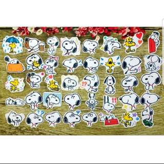 [Instock] Stickers Scrapebook/ Planner Stickers #56 (Snoopy)