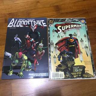 DC: Superman Elseworlds Annual + Bloodstrike TPB