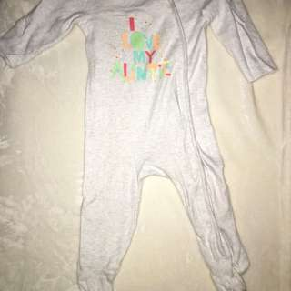 Bluezoo Footed Onesie