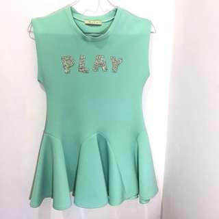 Nyla Turqois Dress