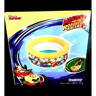 Mainan Kolam Renang Outdoor Indoor Mickey Disney - Baby Boys Or Girls Pool Training (91018)