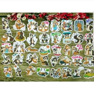 [Instock] Stickers Scrapebook/ Planner Stickers #57 (Chip N Dale)