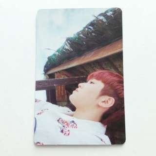 ON HAND PHOTOCARD  Teen, Age (Green Version) - Woozi