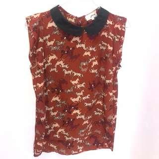 Gaudi Red Shirt