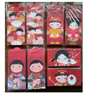 Red Envelopes or Hong Bao (also known as Red Packet , Ang Bao Pao Pow Pau , Sampul Duit) for Auspicious Occasions