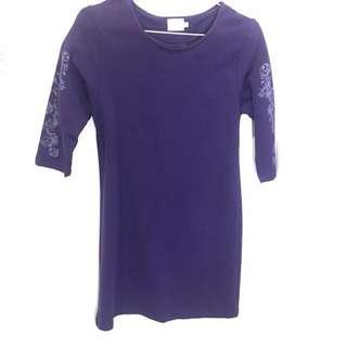 Gaudi Purple Dress