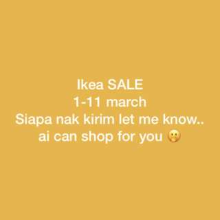 Ikea Sale personal shopper