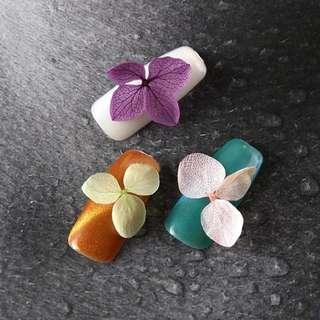12 Colors 3D Dried Flower Stickers Set Real Dry Petal Design UV Gel Nail Art Polish Tips Decoration DIY Manicure Tools @