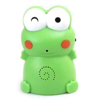 door chime welcoming frog mini
