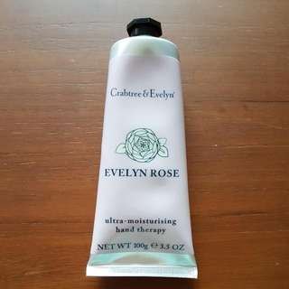 BN 100gr Crabtree & Evelyn Hand Cream (Evelyn Rose)