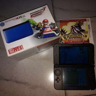 3DS XL with pokemon omega ruby