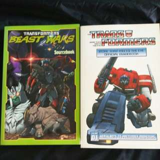 Transformers guidebooks